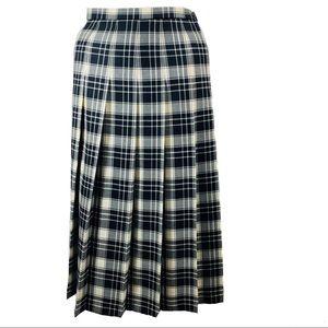 Vintage Sized Pendleton Pleated Skirt Size…
